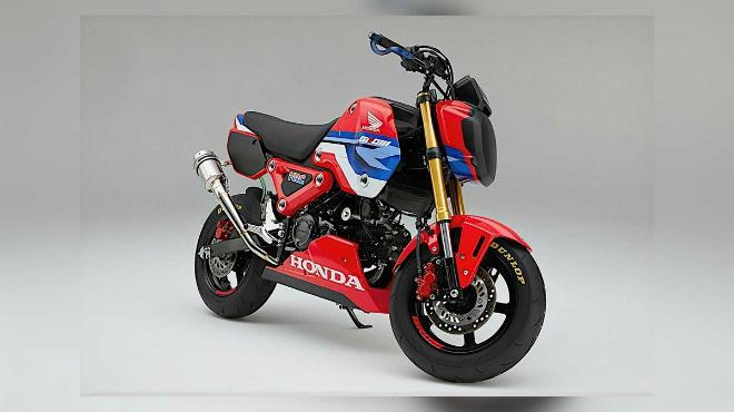 2021 Honda MSX125 Grom HRC đậm chất đua nhìn cực ngầu - 2