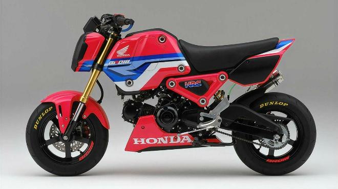 2021 Honda MSX125 Grom HRC đậm chất đua nhìn cực ngầu - 3