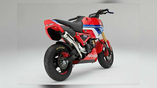 2021 Honda MSX125 Grom HRC đậm chất đua nhìn cực ngầu - 4
